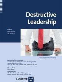 Abbildung von Schyns / Schilling | Destructive Leadership | 2014