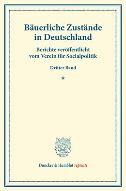 Abbildung von Bäuerliche Zustände in Deutschland. | 2014 | Berichte veröffentlicht vom Ve...