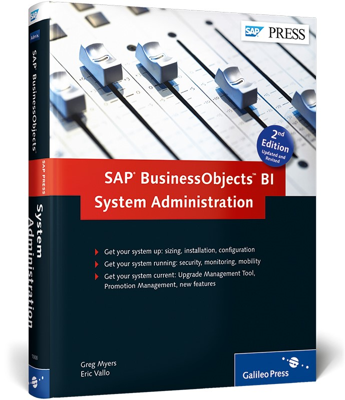 Abbildung von Myers / Vallo | SAP BusinessObjects BI System Administration | 2014