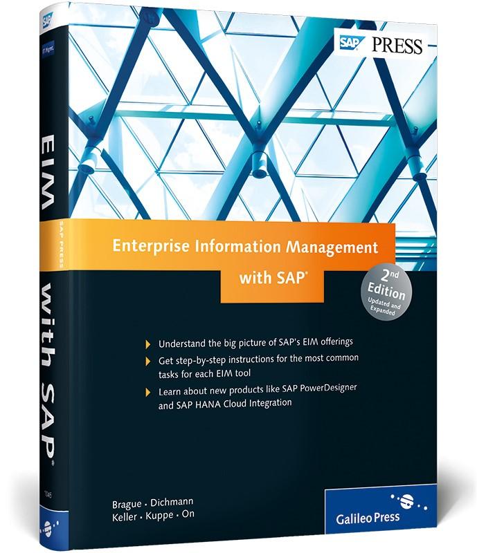 Abbildung von Brague / Champlin / Densborn   Enterprise Information Management with SAP   2014