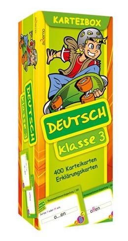 Abbildung von Deutsch Klasse 3 Karteibox | 1. Auflage | 2014 | beck-shop.de