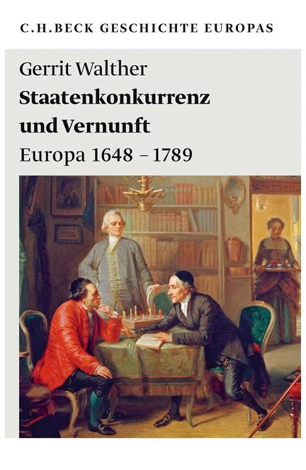 Cover: Gerrit Walther, Staatenkonkurrenz und Vernunft