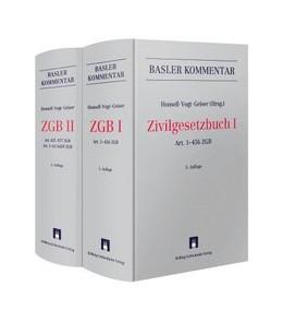 Abbildung von Honsell / Vogt / Geiser (Hrsg.) | Zivilgesetzbuch: ZGB | 5. Auflage | 2015 | Gesamtwerk in 2 Bänden I + II
