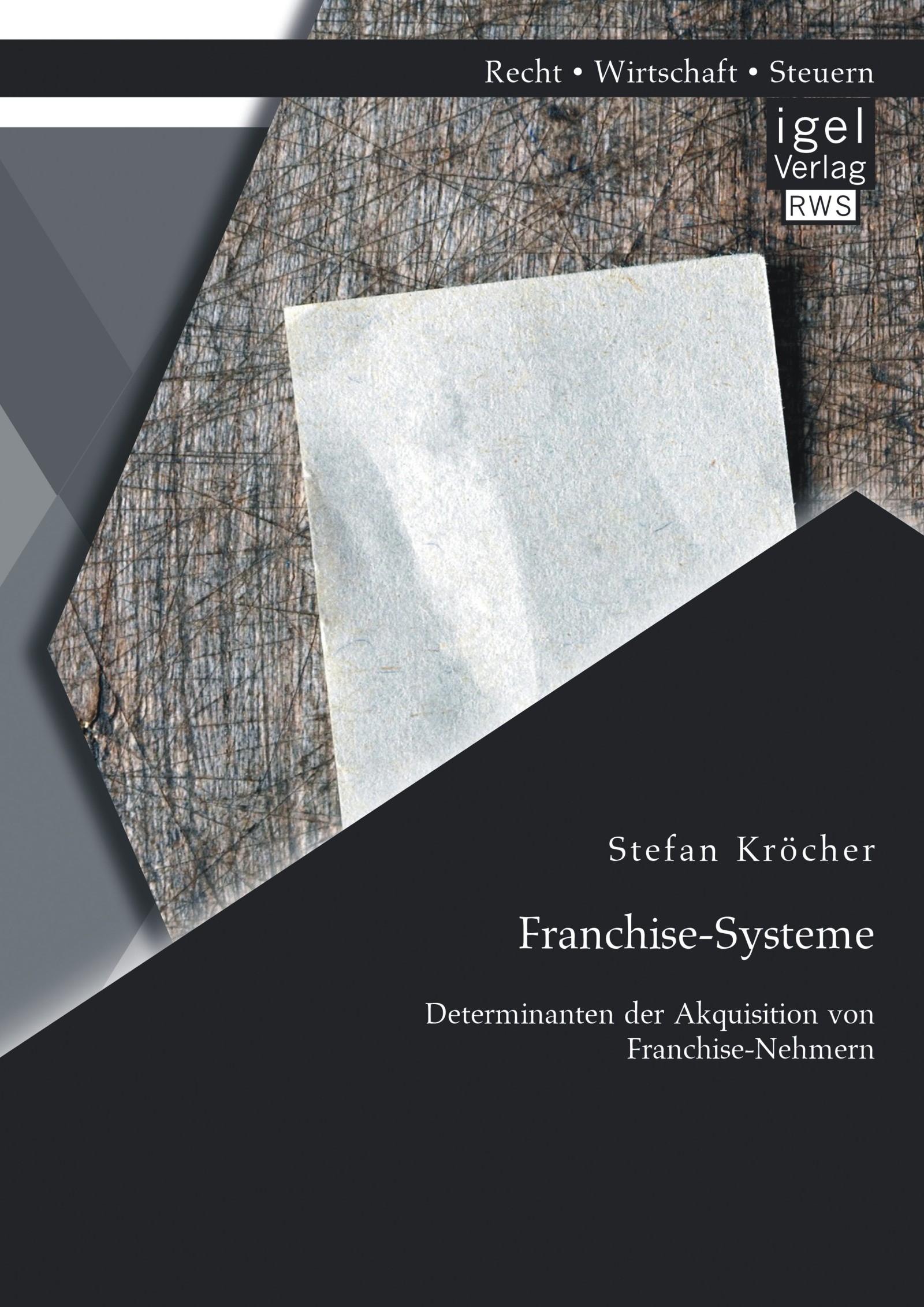 Abbildung von Kröcher | Franchise-Systeme | 2014