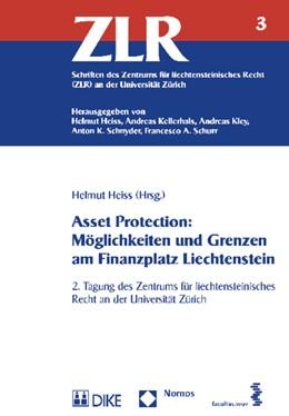Abbildung von Heiss | Asset Protection: Möglichkeiten und Grenzen am Finanzplatz Liechtenstein | 1. Auflage | 2014 | 3 | beck-shop.de