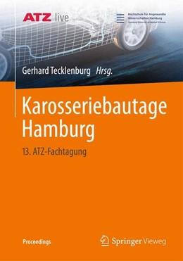 Abbildung von Tecklenburg   Karosseriebautage Hamburg   2014   2014   13. ATZ-Fachtagung