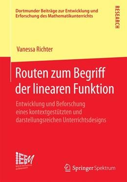 Abbildung von Richter   Routen zum Begriff der linearen Funktion   2014   2014   Entwicklung und Beforschung ei...