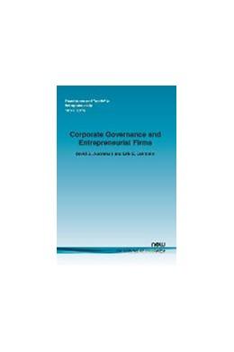 Abbildung von Audretsch / Lehmann | Corporate Governance and Entrepreneurial Firms | 2014