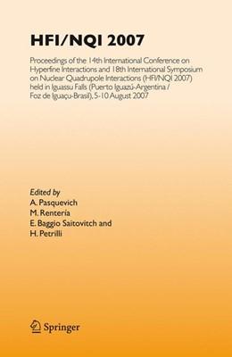 Abbildung von Pasquevich / Renteria / Baggio Saitovitch / Petrilli   HFI/NQI 2007   2008   Proceedings of the 14th Intern...