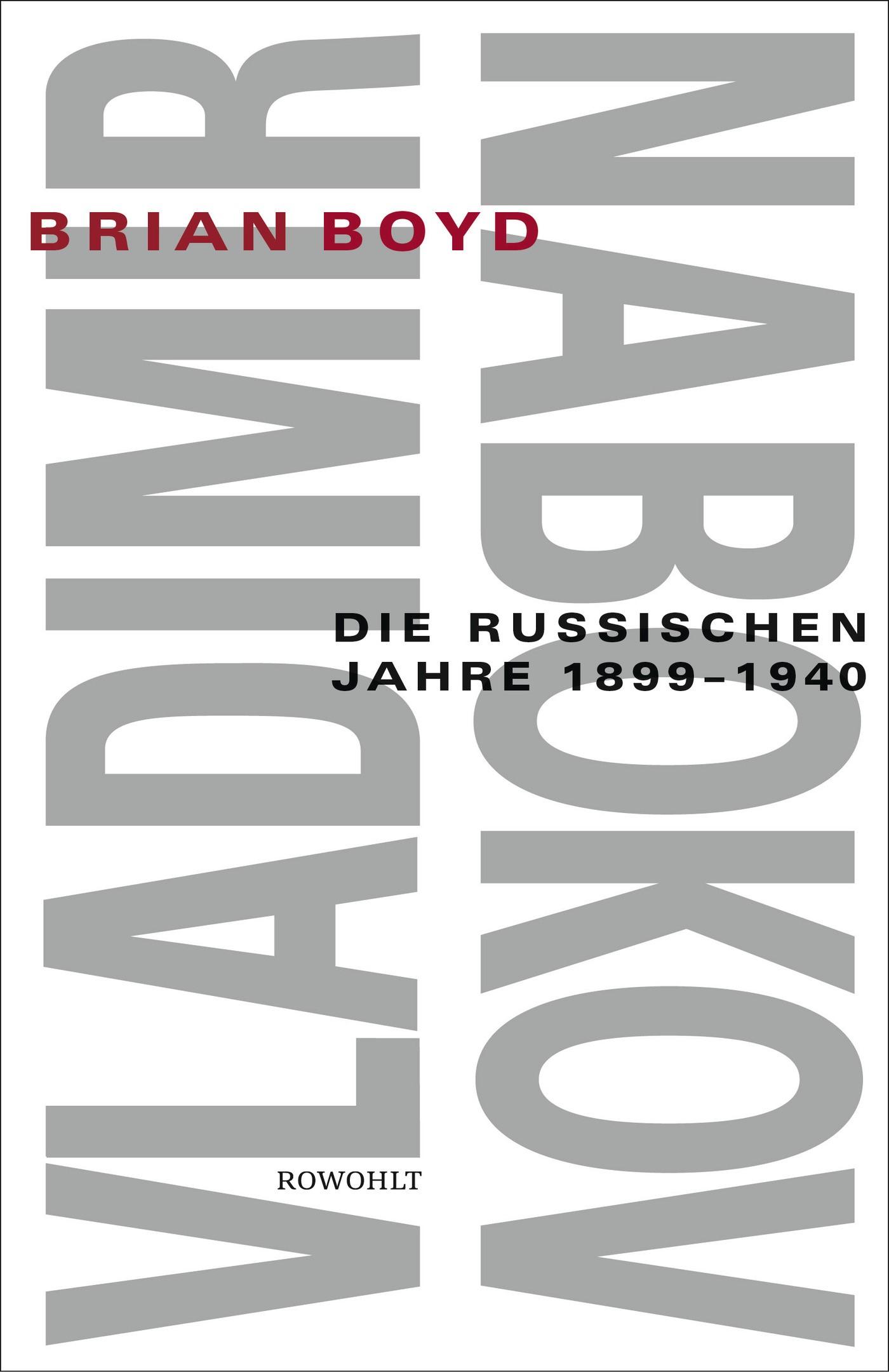 Vladimir Nabokov   Boyd   2. Auflage, 1999   Buch (Cover)