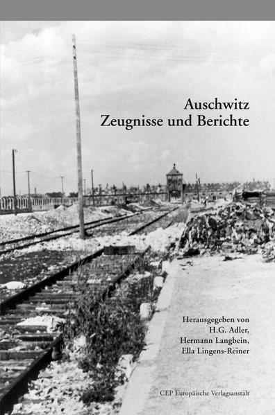 Auschwitz | Adler / Langbein / Lingens-Rainer | 6. Auflage, 2014 | Buch (Cover)