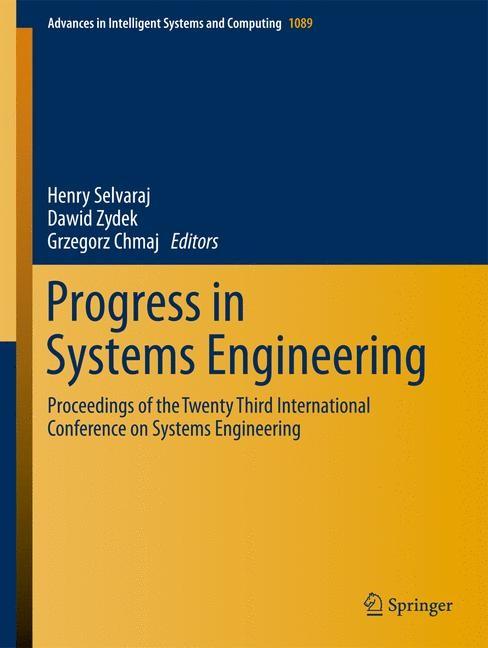 Abbildung von Selvaraj / Zydek / Chmaj | Progress in Systems Engineering | 2014