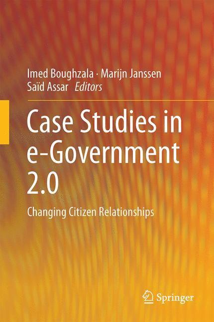 Case Studies in e-Government 2.0 | Boughzala / Janssen / Assar, 2014 | Buch (Cover)