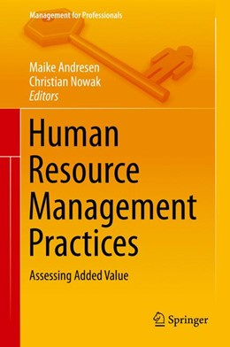 Abbildung von Andresen / Nowak | Human Resource Management Practices | 2014 | Assessing Added Value