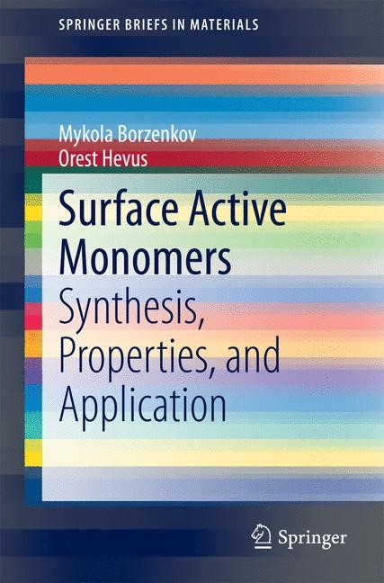 Surface Active Monomers | Borzenkov / Hevus, 2014 | Buch (Cover)