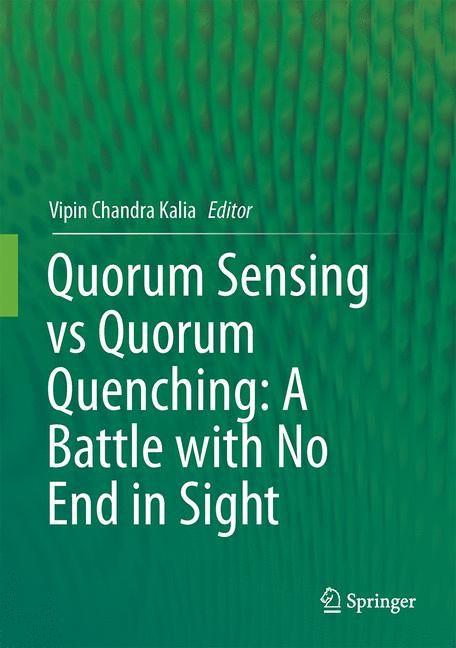 Abbildung von Kalia   Quorum Sensing vs Quorum Quenching: A Battle with No End in Sight   2014