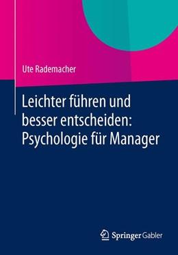 Abbildung von Rademacher | Leichter führen und besser entscheiden: Psychologie für Manager | 2014 | 2014