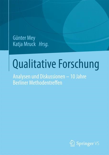 Abbildung von Mey / Mruck | Qualitative Forschung | 2014