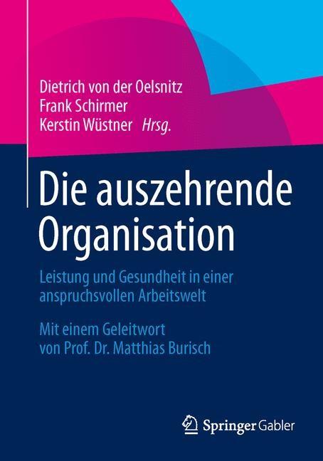 Abbildung von von der Oelsnitz / Schirmer / Wüstner | Die auszehrende Organisation | 2015