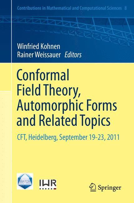 Abbildung von Kohnen / Weissauer   Conformal Field Theory, Automorphic Forms and Related Topics   2014