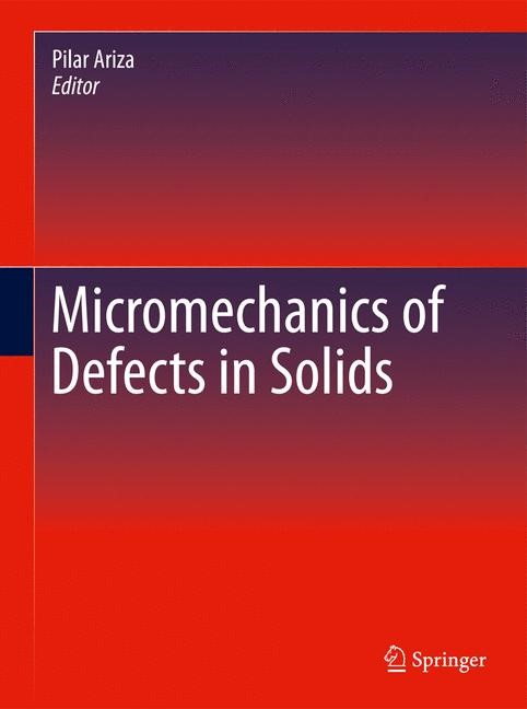 Abbildung von Ariza | Micromechanics of Defects in Solids | 2014