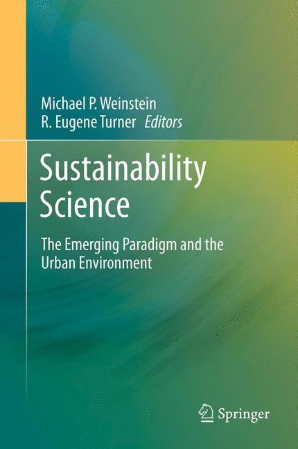 Abbildung von Weinstein / Turner | Sustainability Science | 2014