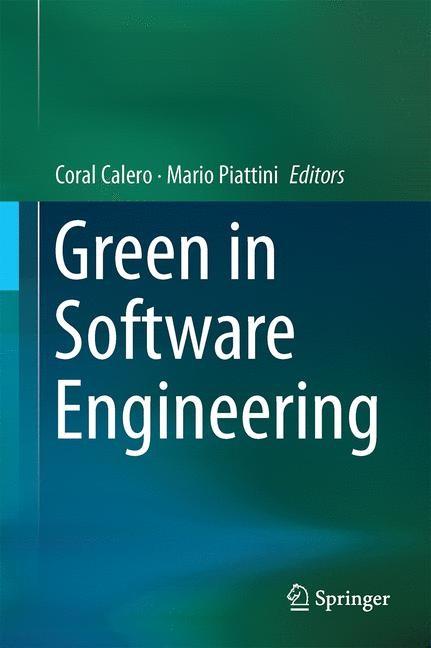 Abbildung von Calero / Piattini | Green in Software Engineering | 2015 | 2015