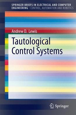 Abbildung von Lewis | Tautological Control Systems | 2014
