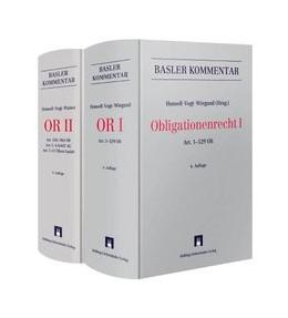 Abbildung von Honsell / Vogt / Watter / Wiegand (Hrsg.) | Obligationenrecht: OR | 2015 | Gesamtwerk in 2 Bänden OR I + ...