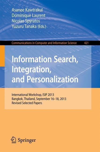 Abbildung von Kawtrakul / Laurent / Spyratos / Tanaka | Information Search, Integration, and Personalization | 2014