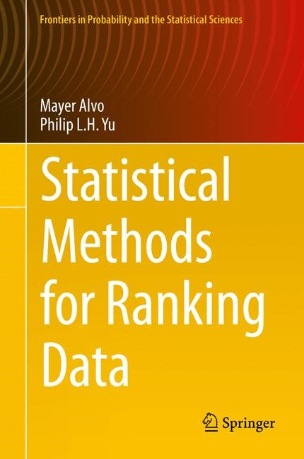 Abbildung von Alvo / Yu | Statistical Methods for Ranking Data | 2014