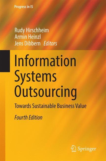 Abbildung von Hirschheim / Heinzl / Dibbern   Information Systems Outsourcing   2014