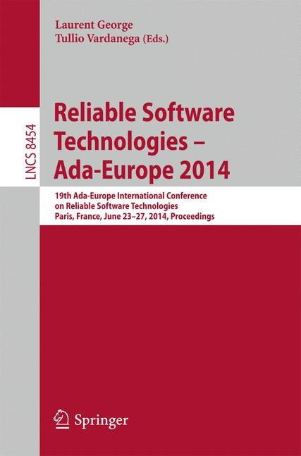 Abbildung von George / Vardanega | Reliable Software Technologies – Ada-Europe 2014 | 2014