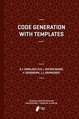 Abbildung von Arnoldus / van den Brand   Code Generation with Templates   1. Auflage   2014   1   beck-shop.de