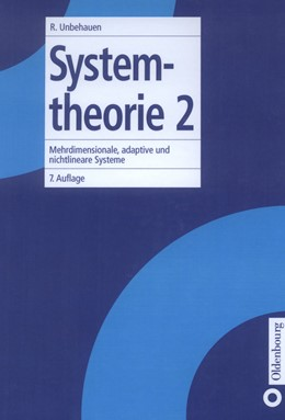 Abbildung von Unbehauen | Systemtheorie 2 | 1998 | Mehrdimensionale, adaptive und...