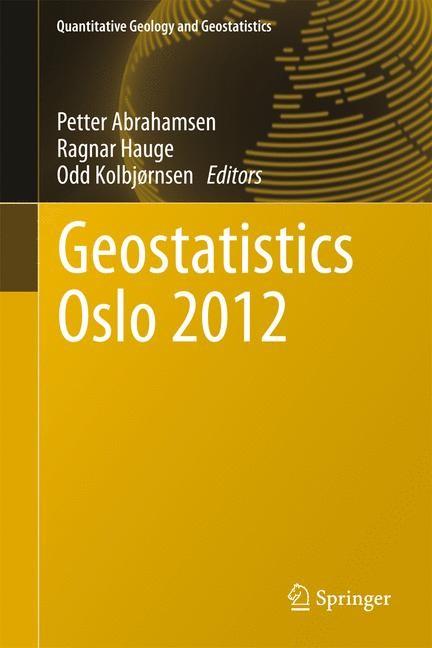 Geostatistics Oslo 2012   Abrahamsen / Hauge / Kolbjørnsen, 2014   Buch (Cover)