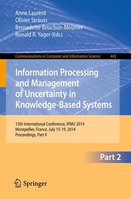 Abbildung von Laurent / Strauss / Bouchon-Meunier / Yager | Information Processing and Management of Uncertainty | 2014 | 15th International Conference ... | 443