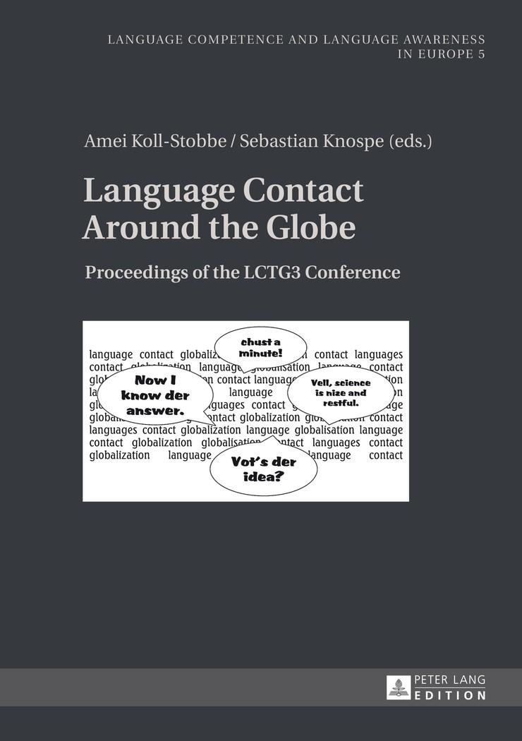 Abbildung von Knospe / Koll-Stobbe | Language Contact Around the Globe | 2014