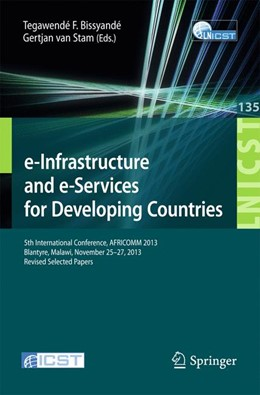 Abbildung von Bissyandé / van Stam | e-Infrastructure and e-Services for Developing Countries | 2014 | 5th International Conference, ... | 135