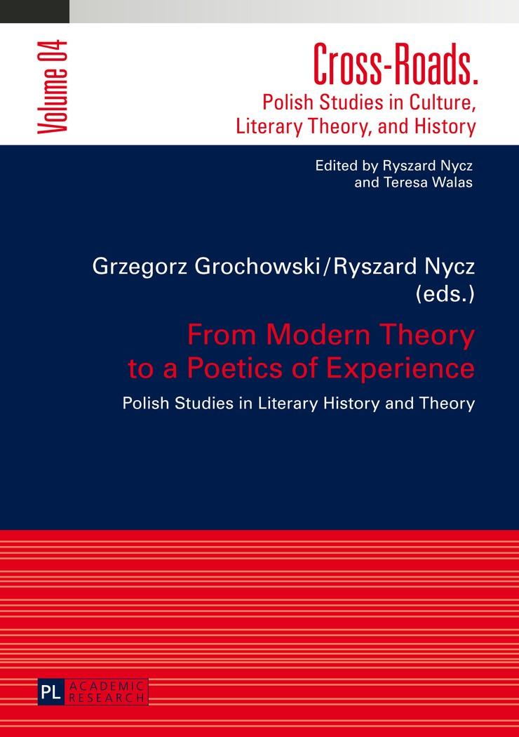 Abbildung von Nycz / Grochowski | From Modern Theory to a Poetics of Experience | 2014