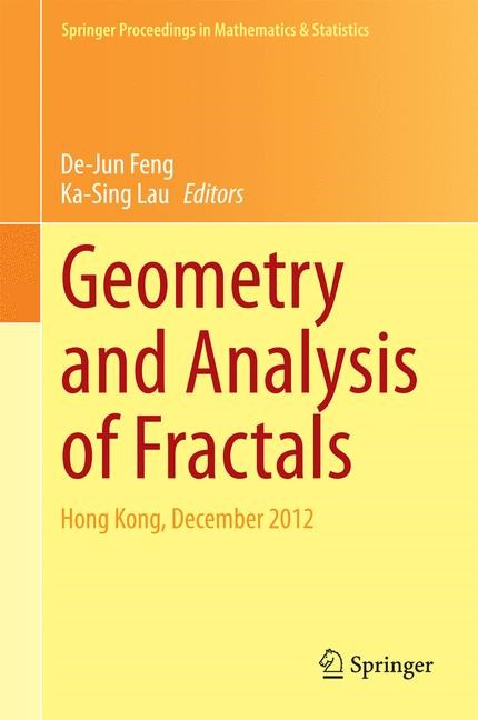 Abbildung von Lau / Feng | Geometry and Analysis of Fractals | 2014
