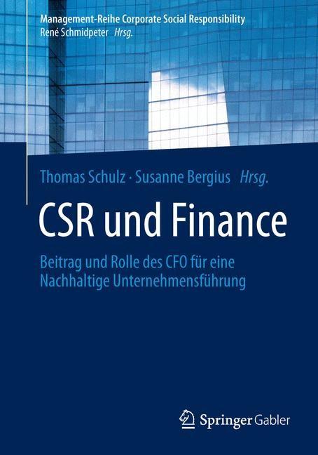 CSR und Finance | Schulz / Bergius, 2014 | Buch (Cover)