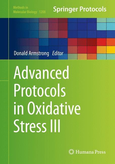 Abbildung von Armstrong | Advanced Protocols in Oxidative Stress III | 2014