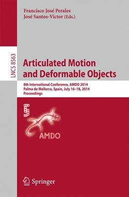 Abbildung von Perales / Santos-Victor | Articulated Motion and Deformable Objects | 2014 | 8th International Conference, ... | 8563