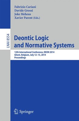 Abbildung von Cariani / Grossi / Meheus / Parent | Deontic Logic and Normative Systems | 2014