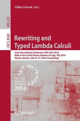 Abbildung von Dowek | Rewriting and Typed Lambda Calculi | 2014 | Joint International Conference...