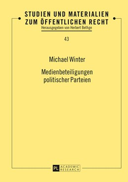 Abbildung von Winter | Medienbeteiligungen politischer Parteien | 2014 | 43