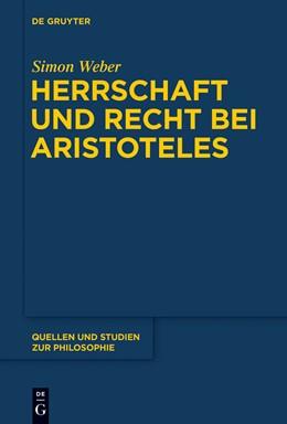 Abbildung von Weber | Herrschaft und Recht bei Aristoteles | 1. Auflage | 2015 | 123 | beck-shop.de