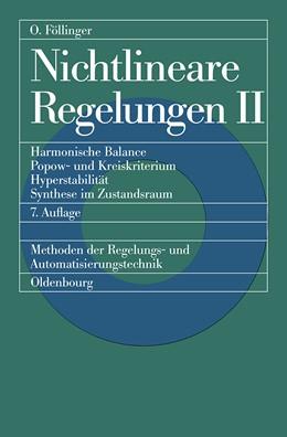 Abbildung von Föllinger | Nichtlineare Regelungen 2 | 7., überarb. und erw. Aufl. | 2014 | Harmonische Balance, Popow- un...