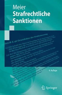 Abbildung von Meier | Strafrechtliche Sanktionen | 2014